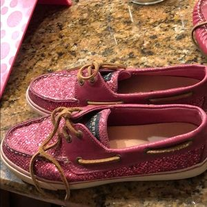 Sparkly sperrys
